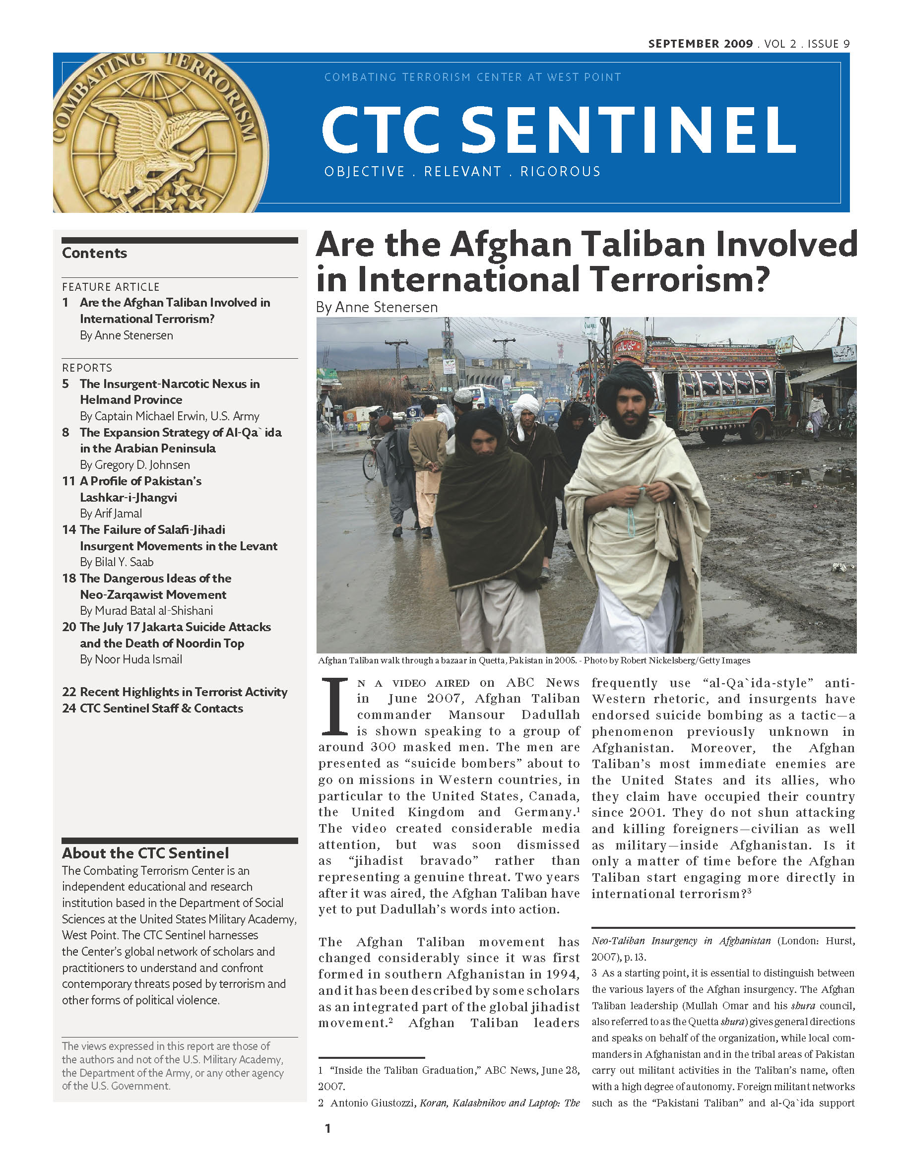 "global terrorism research paper ""paper terrorism"": liens,  justification for belief in the establishment of a global caliphate—a  the domestic terrorist threat: background and issues."