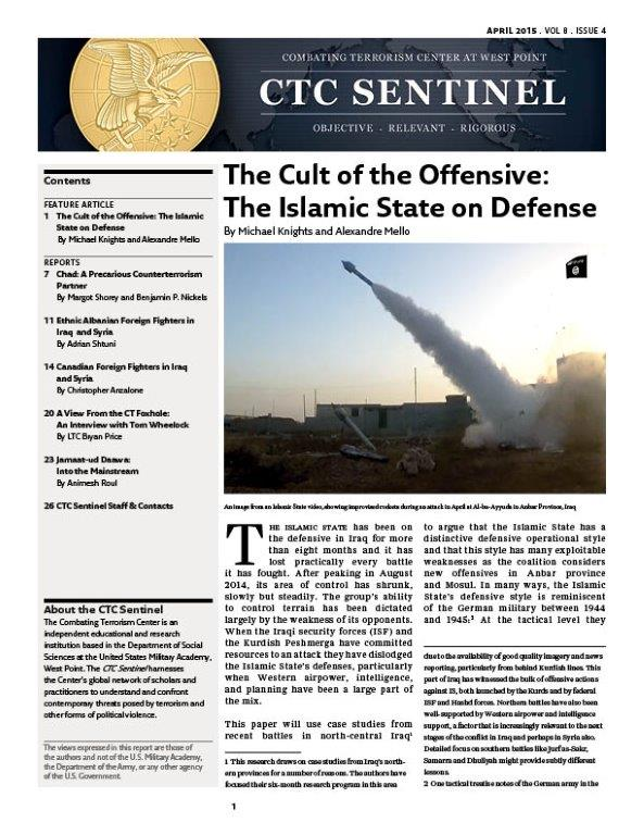 Canadian Foreign Fighters in Iraq and Syria – Combating Terrorism